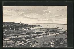 AK Kiel, Ostsee-Schleusen Und Kaiser Wilhelm-Kanal - Kiel