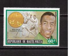 Haute-Volta-1974,(Mi.489) ,Football, Soccer, Fussball,calcio, MNH - Calcio
