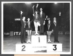 PATINAGE - PATTINAGGIO - UNIVERSIADE 1966 - TATIANA TARASOVA GEORGE Proskurin Agnesa Wlachovská Peter Bartosiewicz ..... - Sport