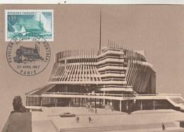 Carte Maximum Yvert  1519 Exposition Montréal Canada 22/4/1967 - 1960-69