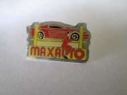 PIN'S   MAXAUTO  FERRARI TESTAROSSA - Ferrari