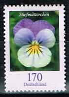 Bund 2019,Michel# R ** Blumen: Stiefmütterchen Mit Nr. 100er Rolle - BRD