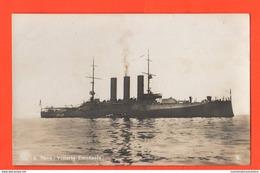 Regia Marina Nave CORAZZATA Vittorio Emanuele Navires Ships Schiffe Marine Navy - Guerra