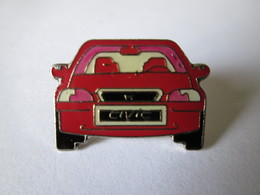 PIN'S   HONDA  CIVIC - Honda