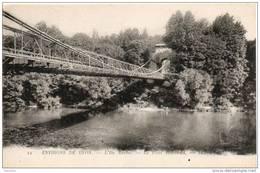 69. Ile Barbe. Le Pont Suspendu - Francia