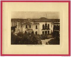 FORMAT CARTE POSTALE 22 X17,5 Cm (Réf : W 084) CASABLANCA Hôtel De La Subdivision (AFRIQUE MAROC) Année Env 1920 - Casablanca