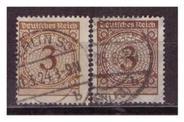 DR: 1923,   Nr. 338 Pa+b, Gestempelt - Deutschland