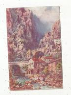 Cp, Illustrateur, Tuck, 06 ,  MENTON ,  Le Pont SAINT LOUIS ,  Frontiére Italienne ,  Vierge - Tuck, Raphael