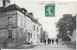 Saint-Leu-d'Esserent  - L'Entrée Du Pont - France