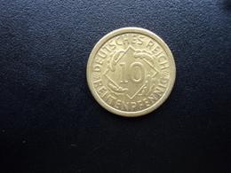 ALLEMAGNE : 10 RENTENPFENNIG   1924 E    KM 33     SUP+ - [ 3] 1918-1933 : Weimar Republic