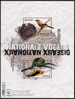 "BELGIUM/Belgien/Belgie EUROPA 2019 ""National Birds"" Minisheet** - 2019"