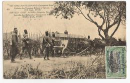 Tanzanie Entrée Des Troupes Belges à Tabora  Est Africain Allemand Occupation Belge CPA PK EP - Tanzanie