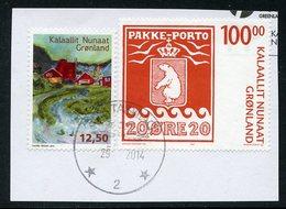 GREENLAND / GROENLAND (2007 + 2014) - PAKKE-PORTO 100 KR. + Greenlandic Songs - USED STAMPS - Usados