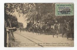 Tanzanie Entrée Des Troupes Belges à Tabora Le 19 Sept 1916 Est Africain Allemand Occupation Belge CPA PK EP - Tanzanie