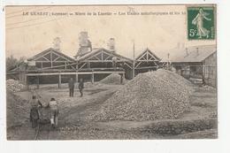 LE GENEST - MINES DE LA LUCETTE - LES USINES METALLURGIQUES ET LES ATELIERS - 53 - Le Genest Saint Isle