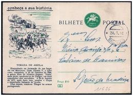 Portogallo/Portugal: Intero, Stationery, Entier, Battaglia Di Arzila, Bataille De Arzilla, Battle Of Arzilla - Storia