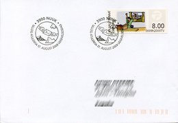 GREENLAND / GROENLAND (2009) - ATM - Receiving A Parcel, Post, Packet, Delivery, Van, Happy - First Day - Distribuidores