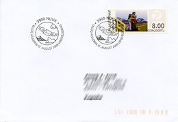 GREENLAND / GROENLAND (2009) - ATM - Receiving A Letter, Post, Postmen, Delivery, Facteur - First Day - Distribuidores
