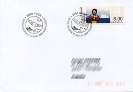 GREENLAND / GROENLAND (2009) - ATM - Receiving A Letter, Post, Iceberg - First Day - Distribuidores