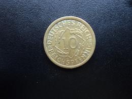 ALLEMAGNE : 10 REICHSPFENNIG   1925 A    KM 40     SUP - [ 3] 1918-1933 : Weimar Republic