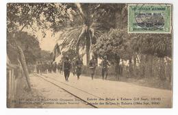 Tanzanie Entrée Des Troupes Belges à Tabora Le 19 Septembre 1916 Est Africain Allemand Occupation Belge CPA PK EP - Tanzanie