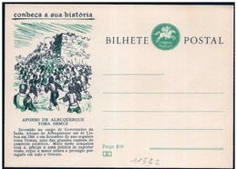 Portogallo/Portugal: Intero, Stationery, Entier, Battle Of Hormuz, Bataille D'Ormuz - Storia