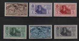 1932 Dante Serie Cpl P.a. MNH - 1900-44 Vittorio Emanuele III