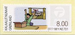 GREENLAND / GROENLAND (2009) - ATM - Receiving A Letter, Post, Postmen, Delivery, Van, Avion, Plane - Distribuidores