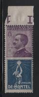 1924-25 Pubblicitari 50 C. De Montel MNH - 1900-44 Vittorio Emanuele III