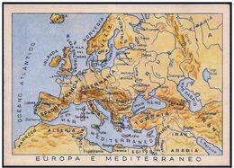 Italia/Italy/Italie: Franchigia Militare, Franchise Militaire, Free Postage Military, Mappa, Map, Carte - Geografia