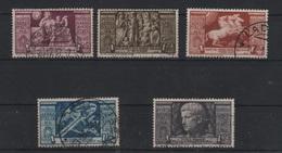 1937 Augusto P.a. Serie Cpl US - 1900-44 Vittorio Emanuele III