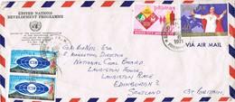 33357. Carta Aerea MANILA (Filipinas) 1971. United Nations Development - Filipinas