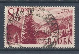Duitsland/Germany All. Bezetting/ All Occupation Baden 1948 Mi: 26 Yt: 26 (Gebr/used/obl/o)(4521) - French Zone