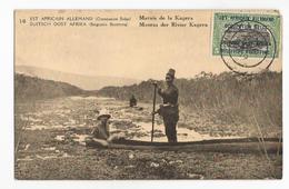 Tanzanie Marais De La Kagera Pirogues Est Africain Allemand Occupation Belge CPA PK EP - Tanzanie