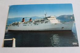 Car Ferry De La Compagnie Transmeditérannéenne - 1972 - Ferries