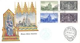 FDC Vaticano - 8° Centenario Del Santuario Di Mariazell - 1957 - Non Viaggiata - Francobolli