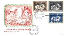 FDC Vaticano 1960 - Natale - Non Viaggiata - Francobolli