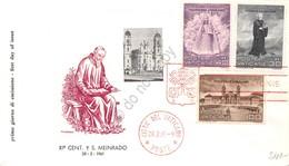 FDC Vaticano 1961 - San Meinrado - Non Viaggiata - Francobolli