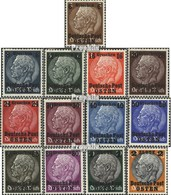 Generalgouvernement 1-13 (kompl.Ausg.) Mit Falz 1939 Hindenburg - Besetzungen 1938-45