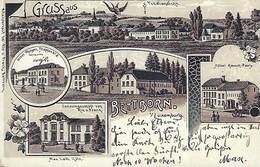 GRUSS AUS BETTBORN  -  Verlag Max Leib,Köln  Perforation Côté Droite - Cartes Postales