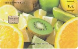 ISN-292 TARJETA DE ESPAÑA DE ISERN  DE LA SERIE FRUTAS Nº28 - Alimentación