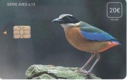 ISN-293 TARJETA DE ESPAÑA DE ISERN  DE LA SERIE AVES Nº13 (PAJARO-BIRD) - Birds