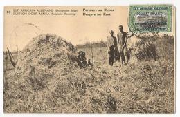 Tanzanie Kigoma Porteurs Au Repos Est Africain Allemand Occupation Belge CPA PK EP - Tanzanie