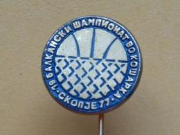 List 119 - Basketball - Skopje 77, Yugoslavia, Championship - Basketball