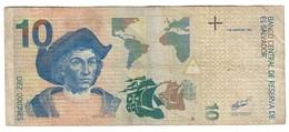 El Salvador 10 Colones 01/06/1998 - Salvador