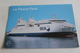 La Pascal Paoli - Ferries