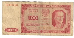 Poland 100 Zlotych 1948 - Polonia