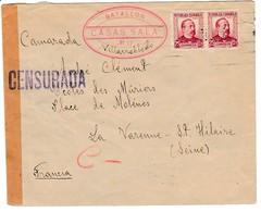 GUERRA CIVIL 1936 BATALLON CASAS SALA N°17 VILLAROBLEDO ELA129 - 1931-Hoy: 2ª República - ... Juan Carlos I