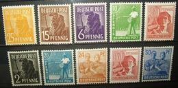 N°104A TIMBRES DEUTSCHE POST NEUFS - Allemagne