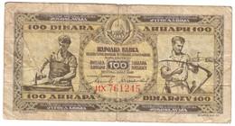Yugoslavia 100 Dinara 1946 - Jugoslavia